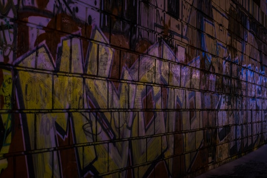 Kostenloses Stock Foto zu kalt, graffiti, mauer, winter