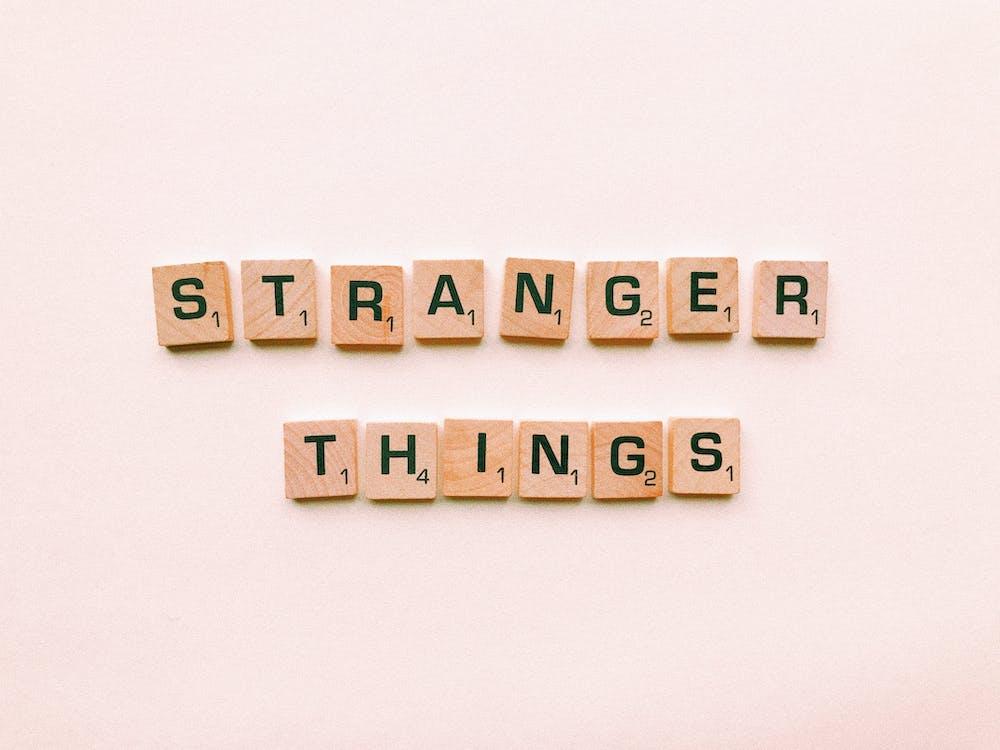 Stranger Things Letter Tiles