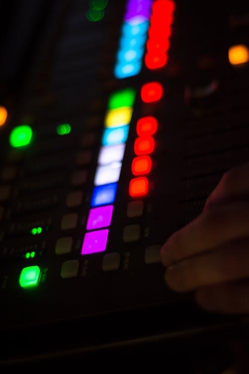 Free stock photo of audio, audio mixer, live music