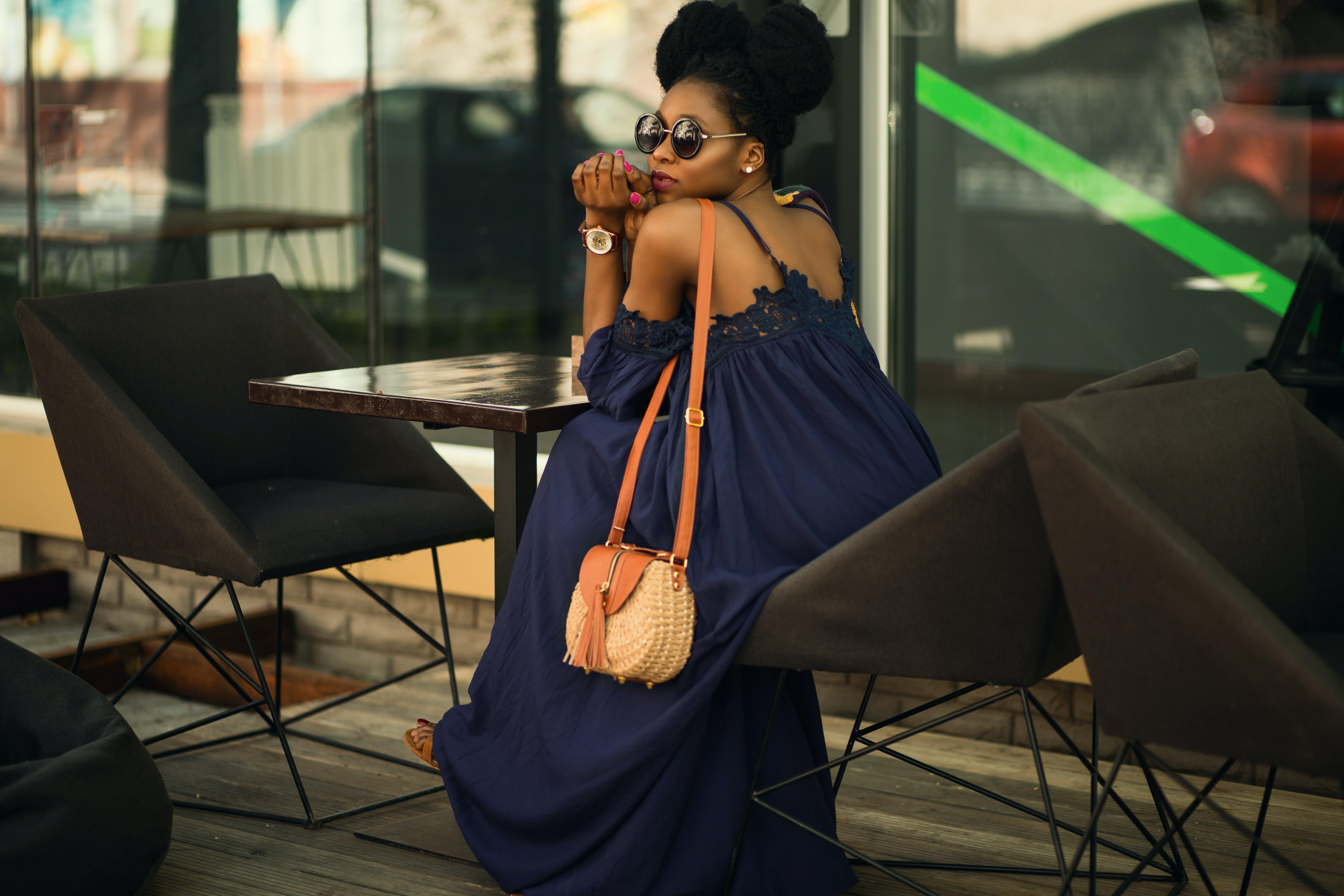 Kostnadsfri bild av afrikansk amerikan kvinna, ansiktsuttryck, flicka, fotografering