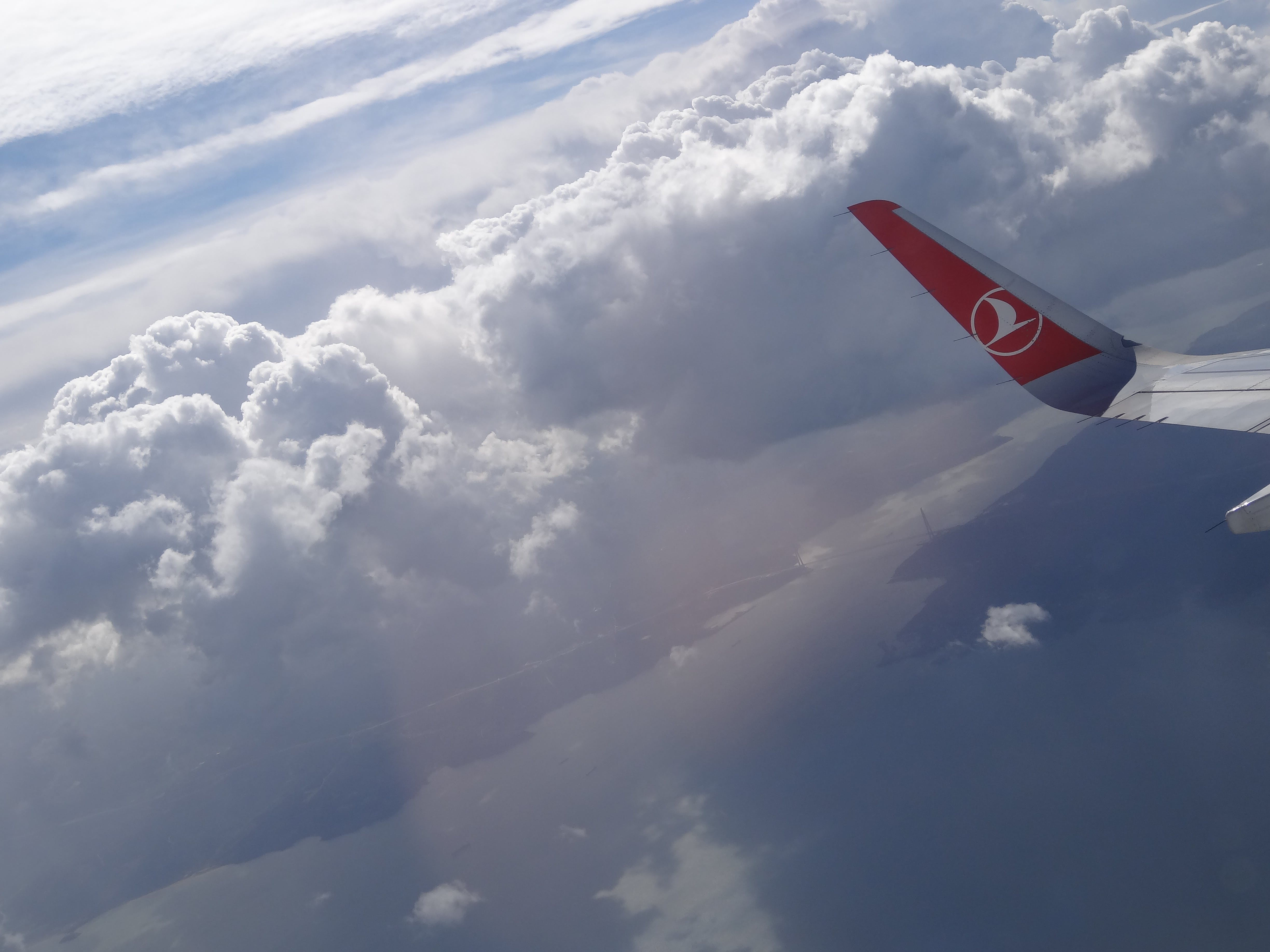 Free stock photo of airplane, cloud, clouds, flight