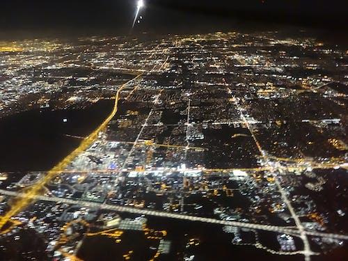 Fotos de stock gratuitas de avión, cielo, ciudad, dron