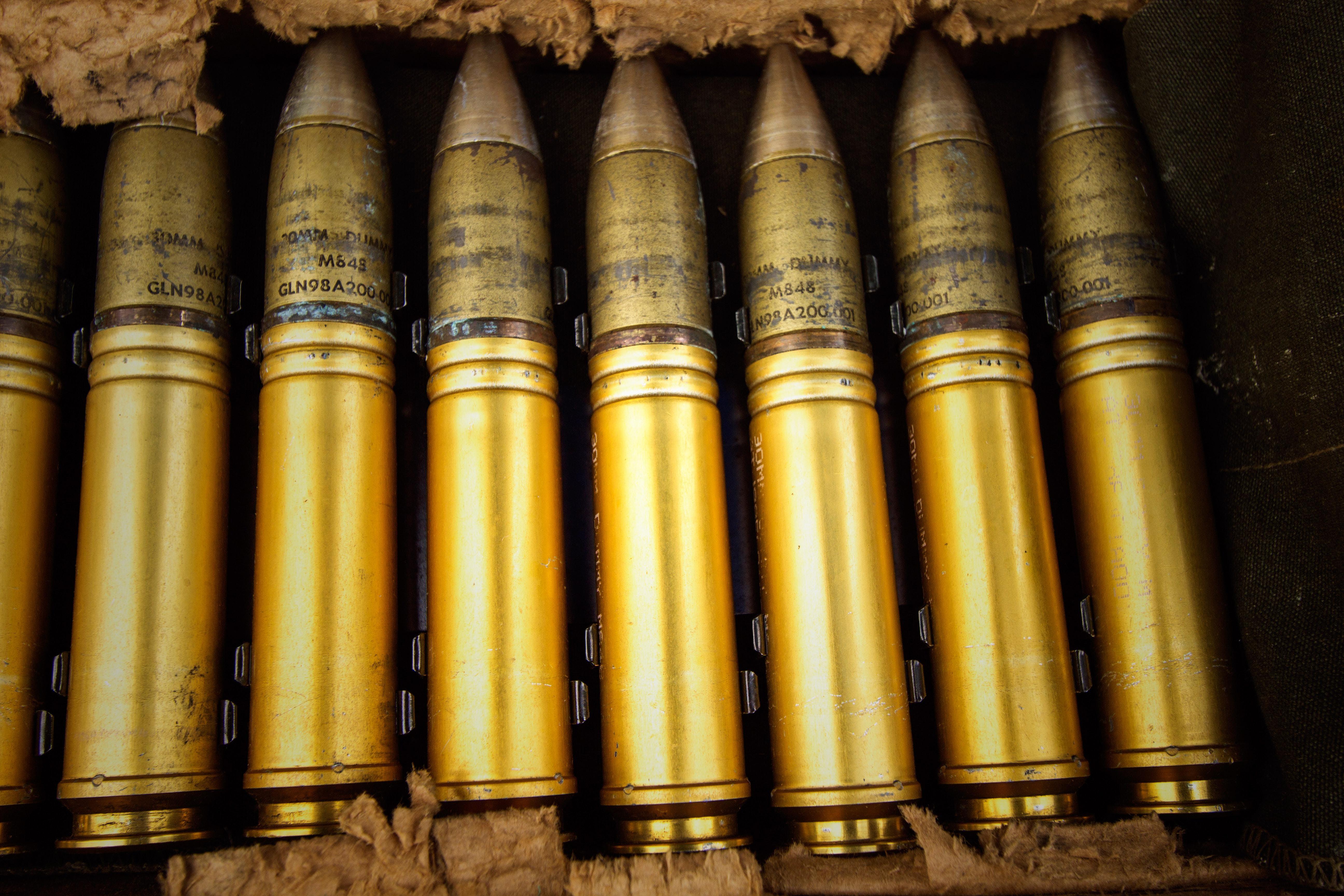 Kostenloses Stock Foto zu messing, munition