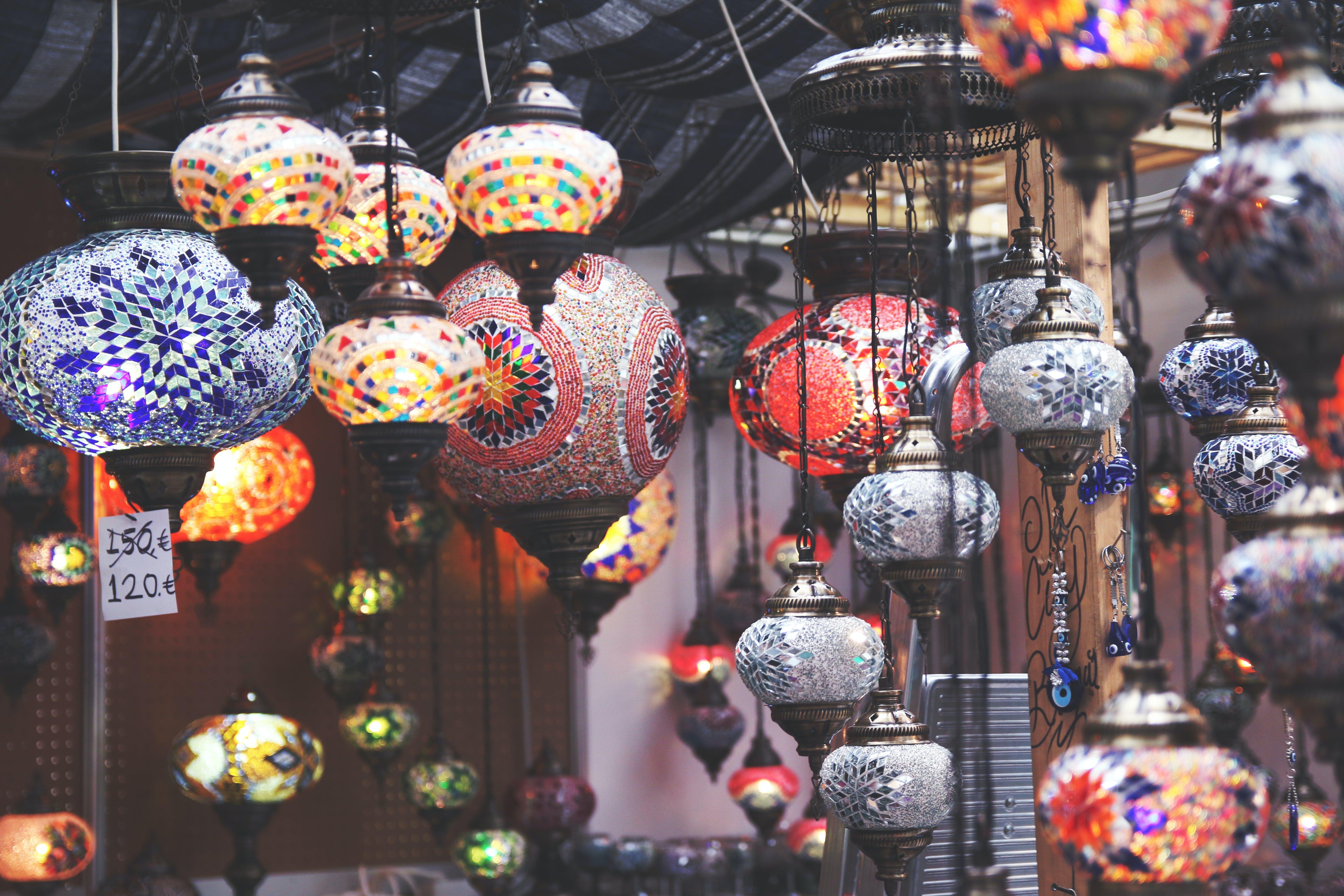 Free stock photo of Chinese, Japanese, lantern, lights