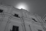 black-and-white, building, architecture