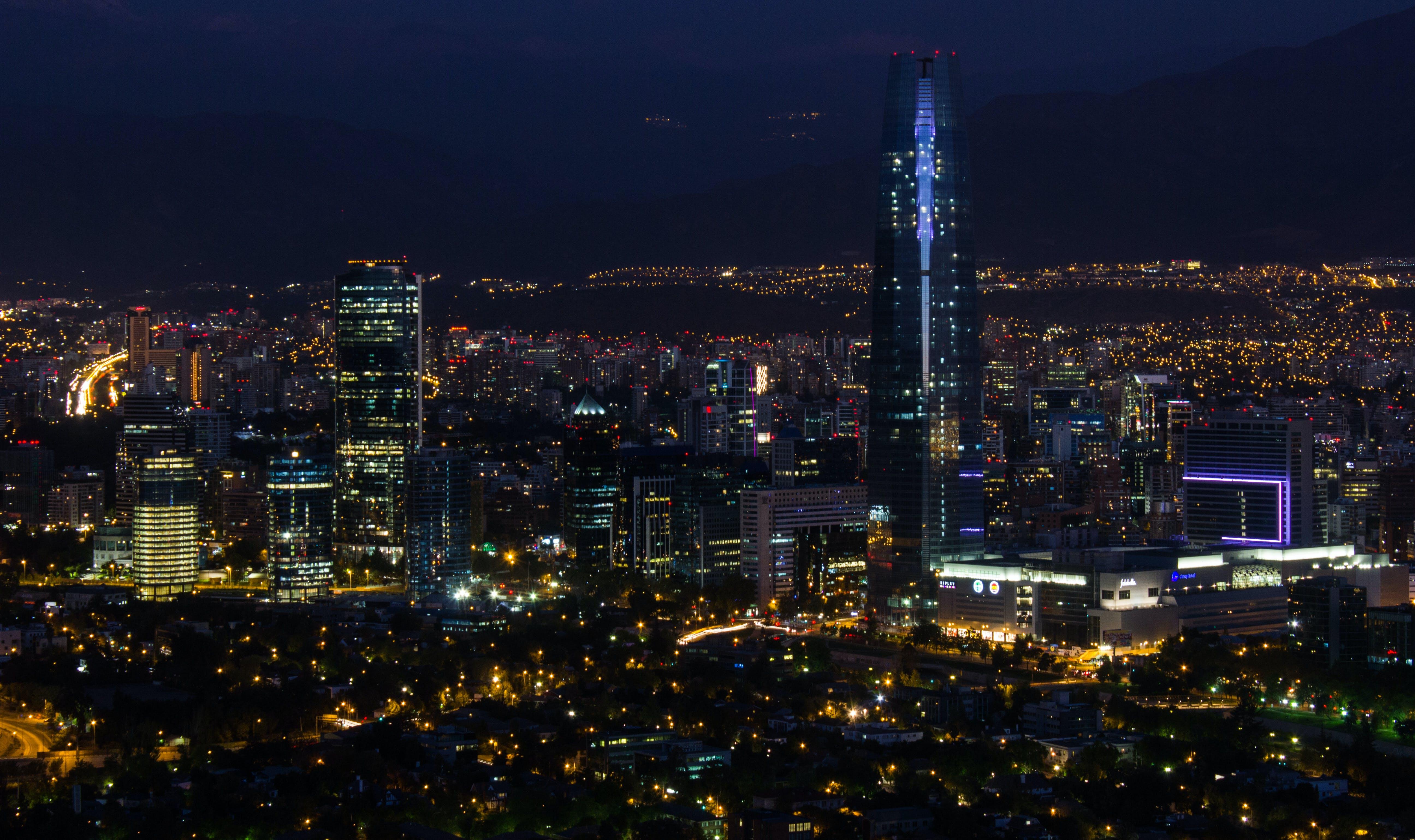 Photo of Concrete Buildings on City