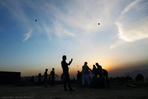 Free stock photo of fun, holiday, kite, landscape