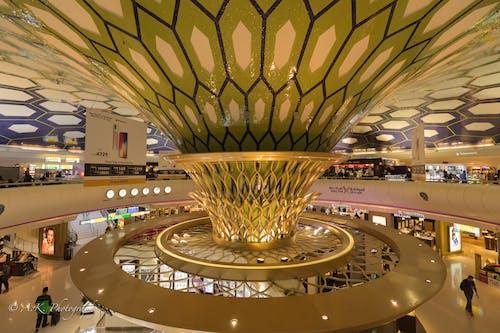 Free stock photo of abu dhabi, beautiful airport