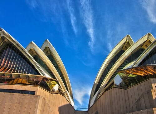 Low Angle Photo of Sydney Opera House, Australia
