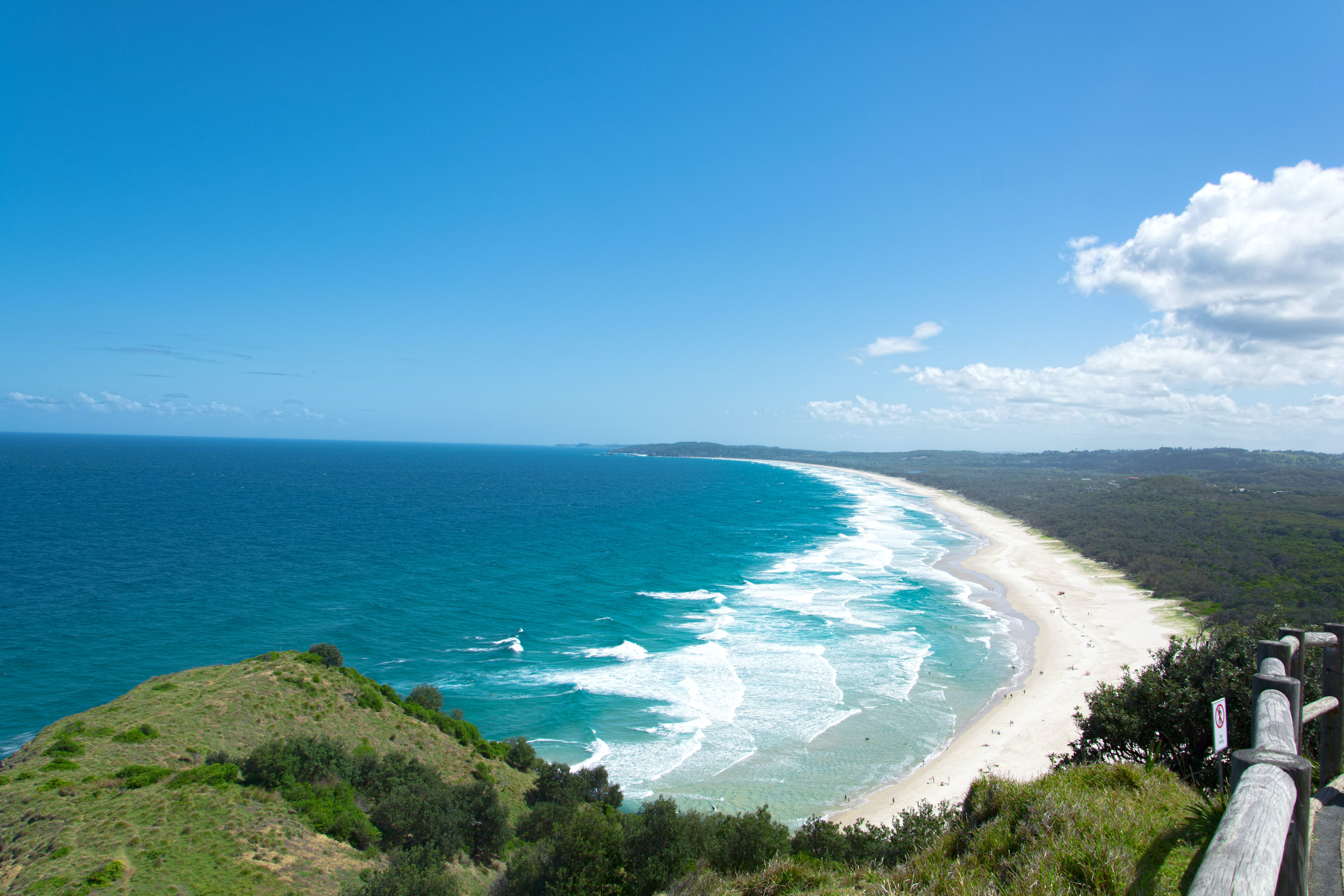 Free stock photo of byron bay