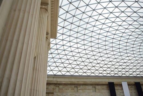 イギリス博物館, パターン, ミニマリズム, ルーフの無料の写真素材