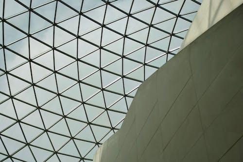 イギリス博物館, ミニマリズム, ルーフ, ロンドンの無料の写真素材