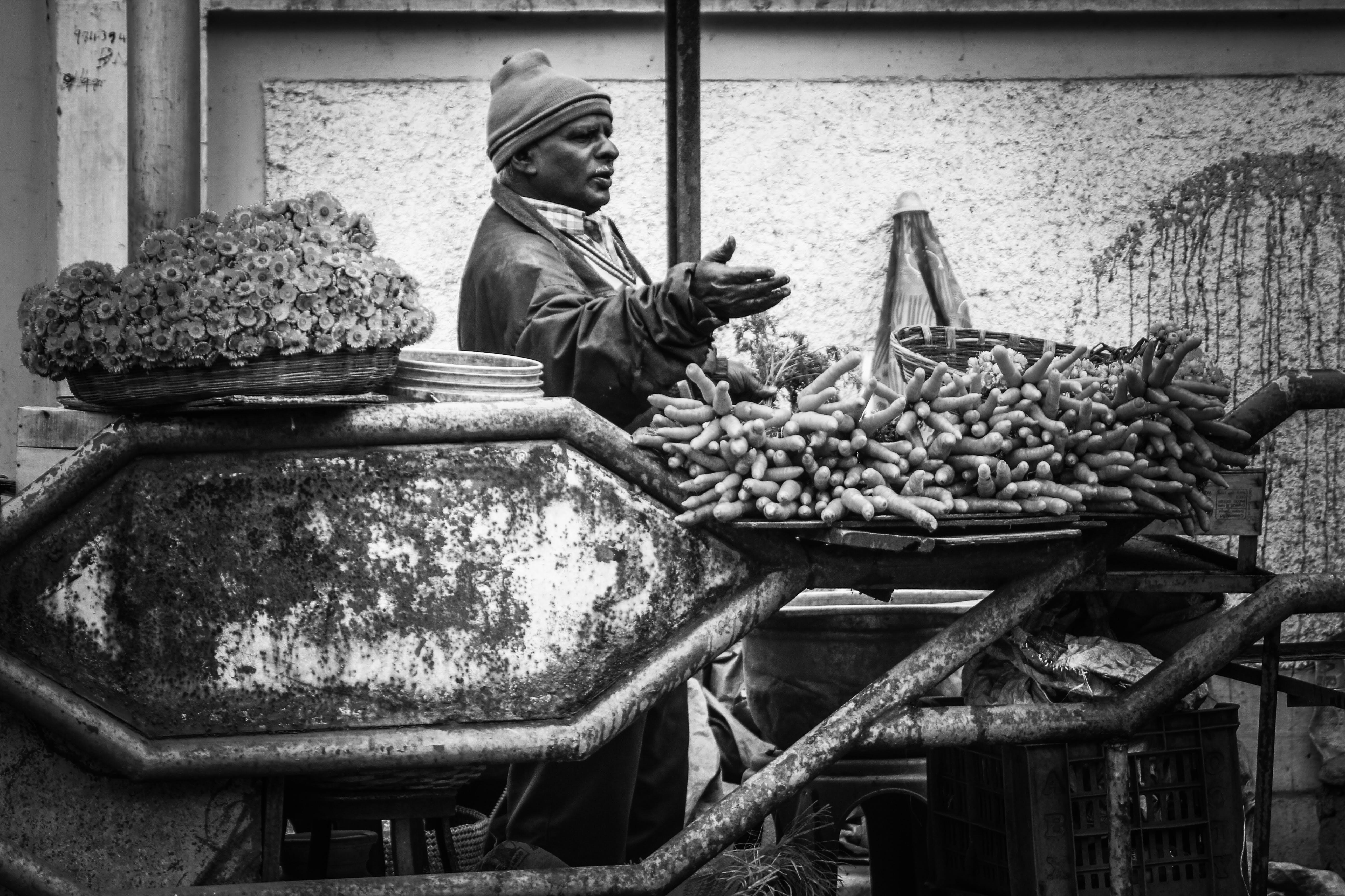 Free stock photo of seller, street photo