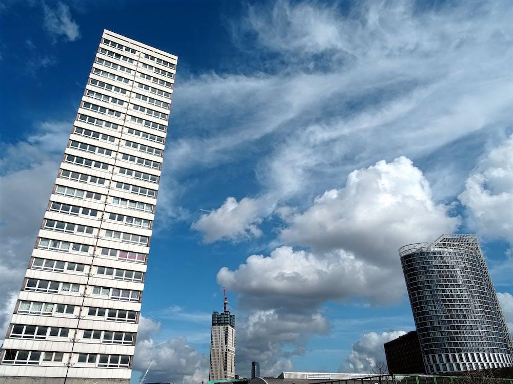architektura, biura, budynki