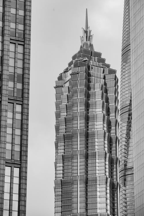 La Tour Jin Mao à Shanghai, Chine