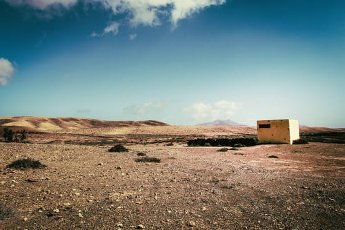 乾旱, 乾的, 單獨一人, 土 的 免費圖庫相片