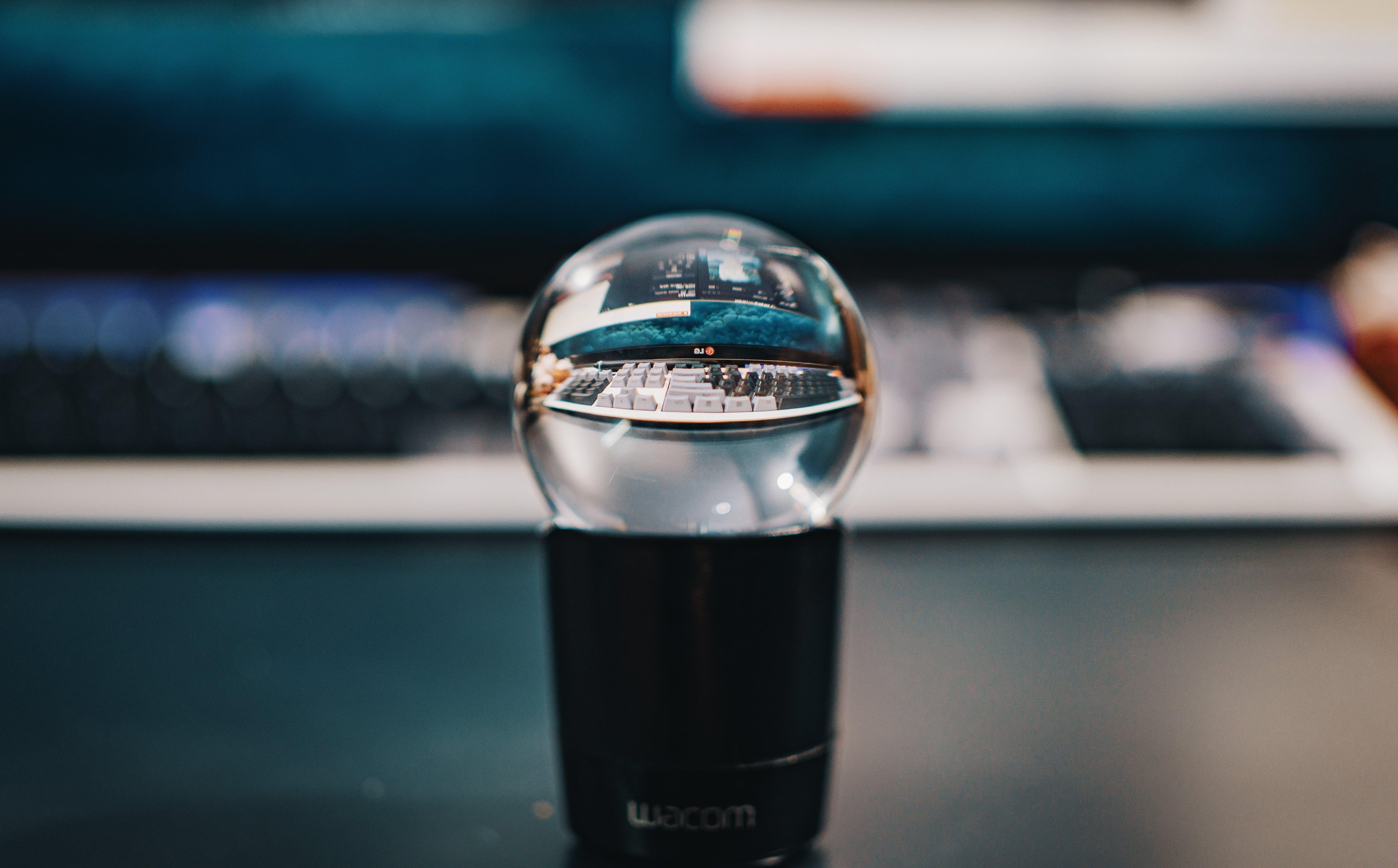 Macro Shot Photography of Wacom Device