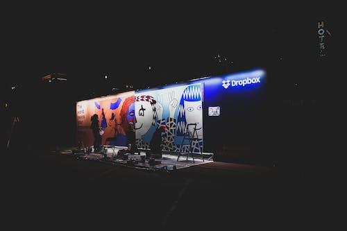 Free stock photo of art, artistic, austin, city lights