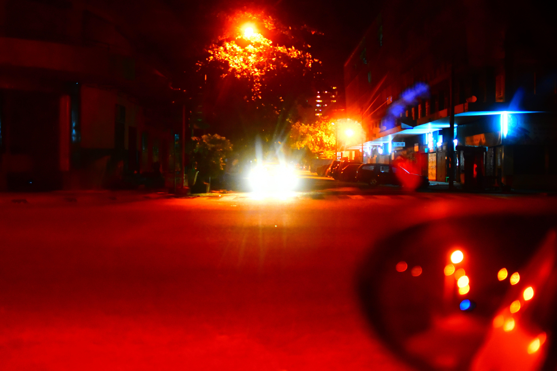 Free stock photo of blur, car lights, cars, celebration