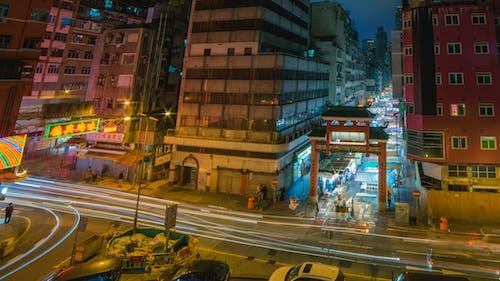 Imagine de stoc gratuită din automobil, expunere lungă, hk, Hong kong