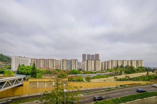 Imagine de stoc gratuită din cer, clădire, cu unghi larg, Hong kong