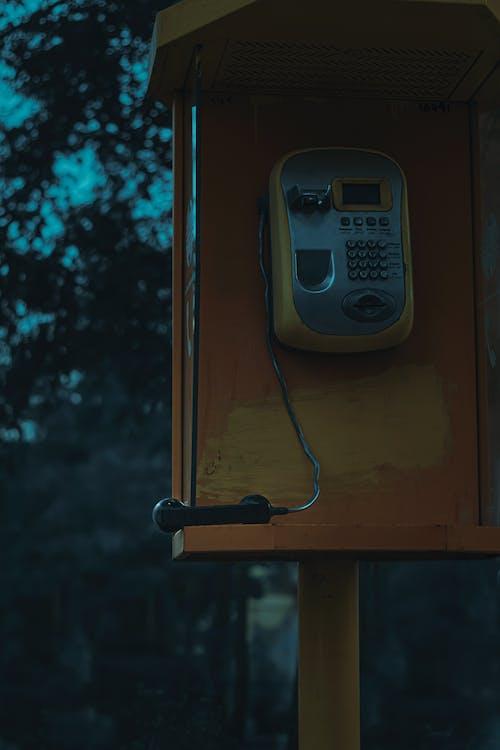 Základová fotografie zdarma na téma telefonní budka