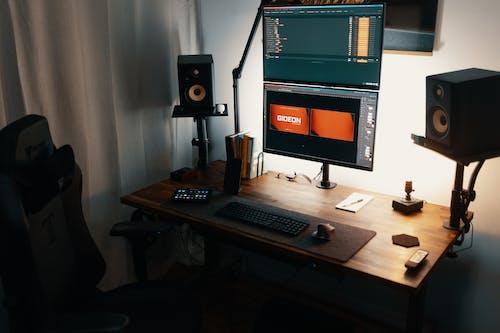 Kostenloses Stock Foto zu computer, drinnen, familie
