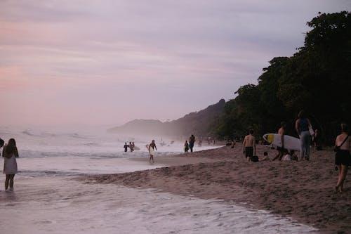 Ilmainen kuvapankkikuva tunnisteilla aikuinen, auringonlasku, costa rica