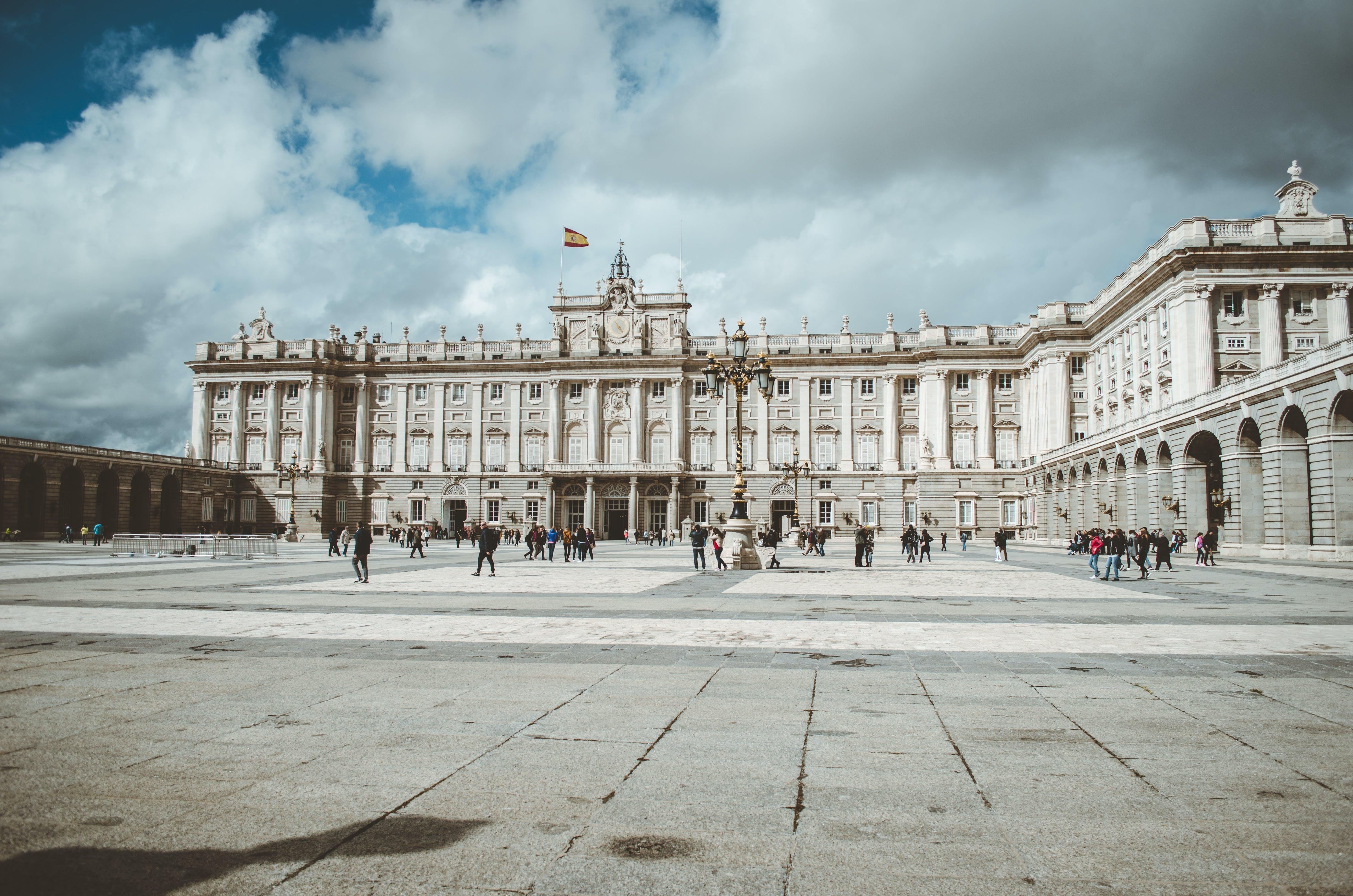 arquitectura, capital, cuadrado