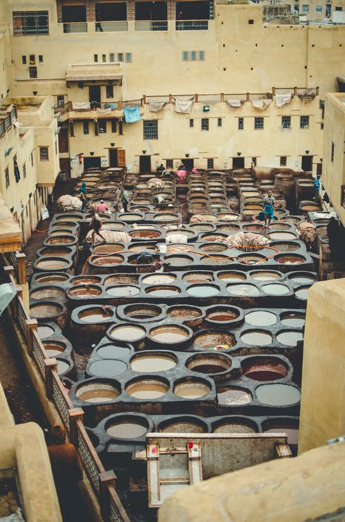 Kostenloses Stock Foto zu afrika, alt, farbe, fes