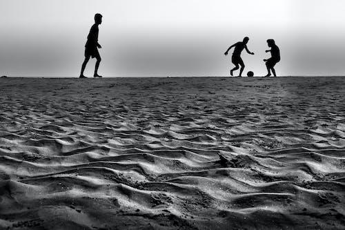 คลังภาพถ่ายฟรี ของ การพักผ่อนหย่อนใจ, ขอบฟ้า, คน, ชายหาด