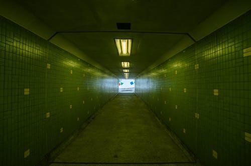 Бесплатное стоковое фото с в помещении, городской, длинный, метро