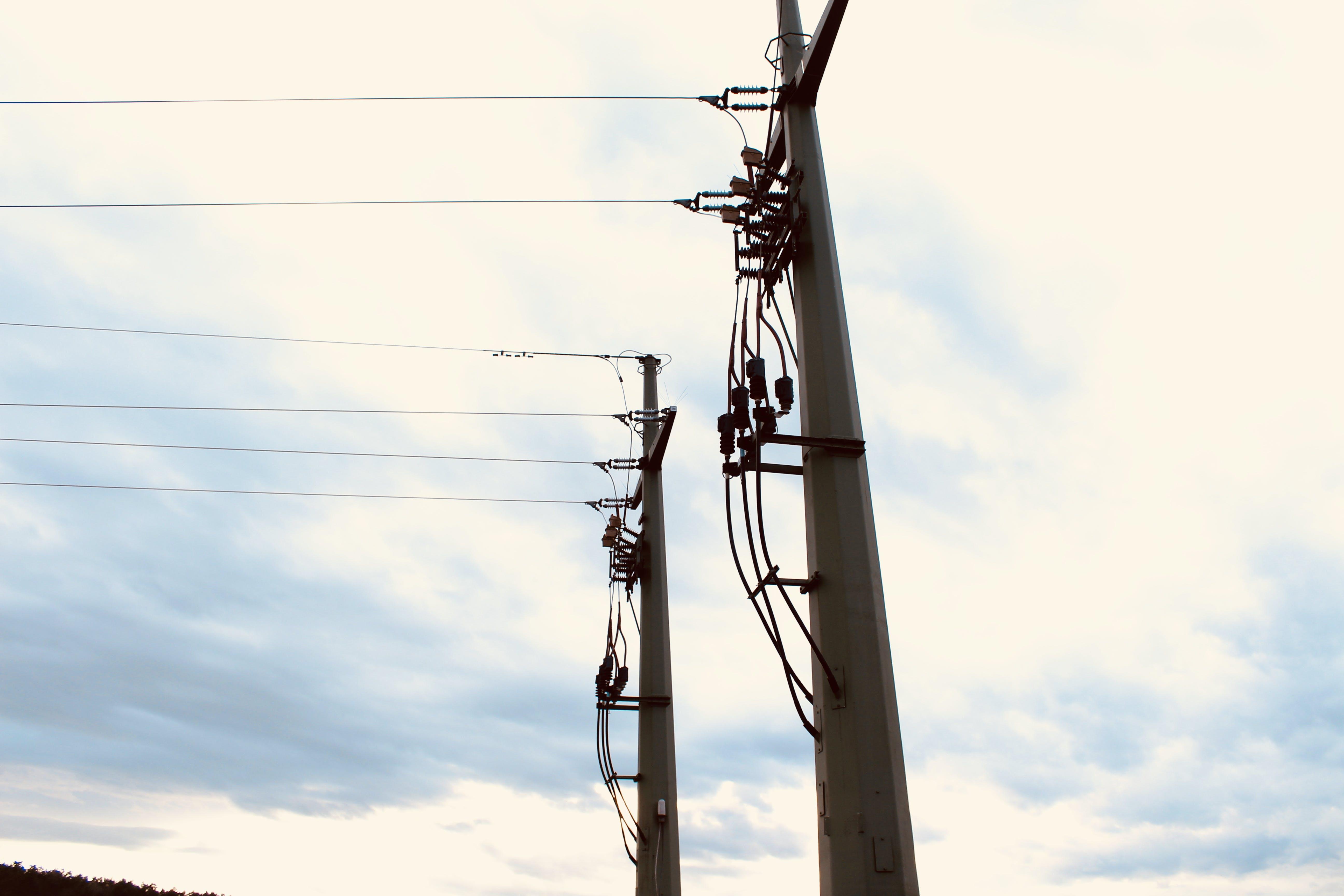 electric current, sun, wind