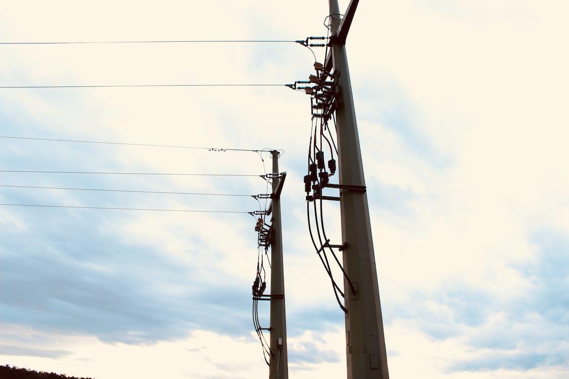 elektrisk strøm, sol, vind