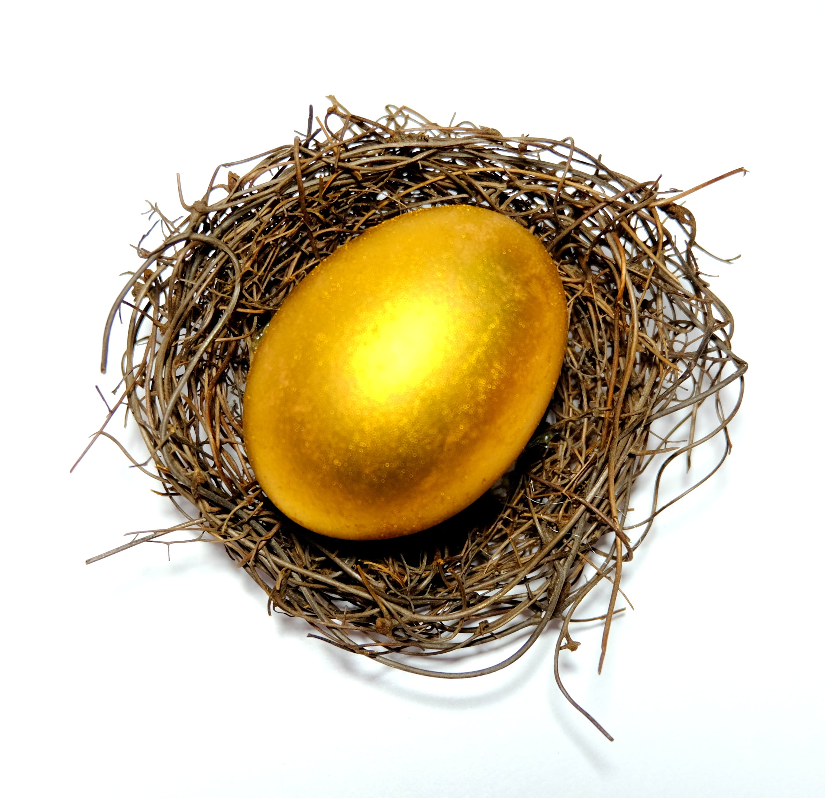 Free stock photo of decoration, easter, egg, gold