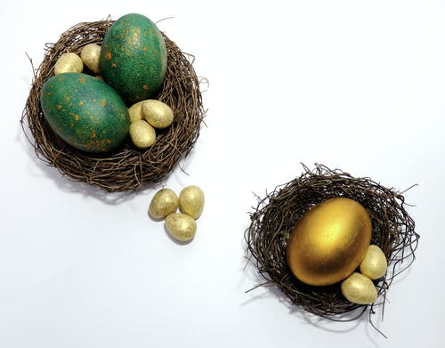 Free stock photo of easter, egg, eggs, gold