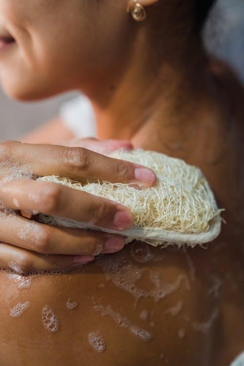 Immagine gratuita di avvicinamento, bolle di sapone, fare il bagno