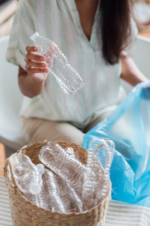 回收, 垂直拍攝, 塑料袋 的 免費圖庫相片