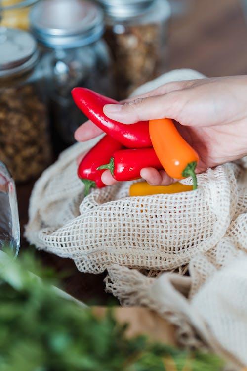 과일, 빨간, 손의 무료 스톡 사진
