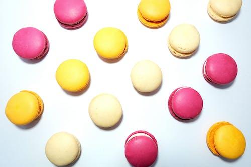 Ilmainen kuvapankkikuva tunnisteilla appelsiini, flatlay, keltainen, kerma
