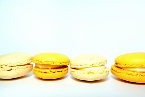 Yellow Macaroons