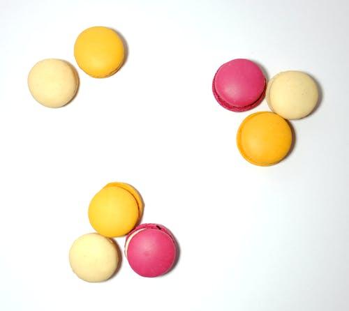 Free stock photo of cute, macarons, macaroons, white