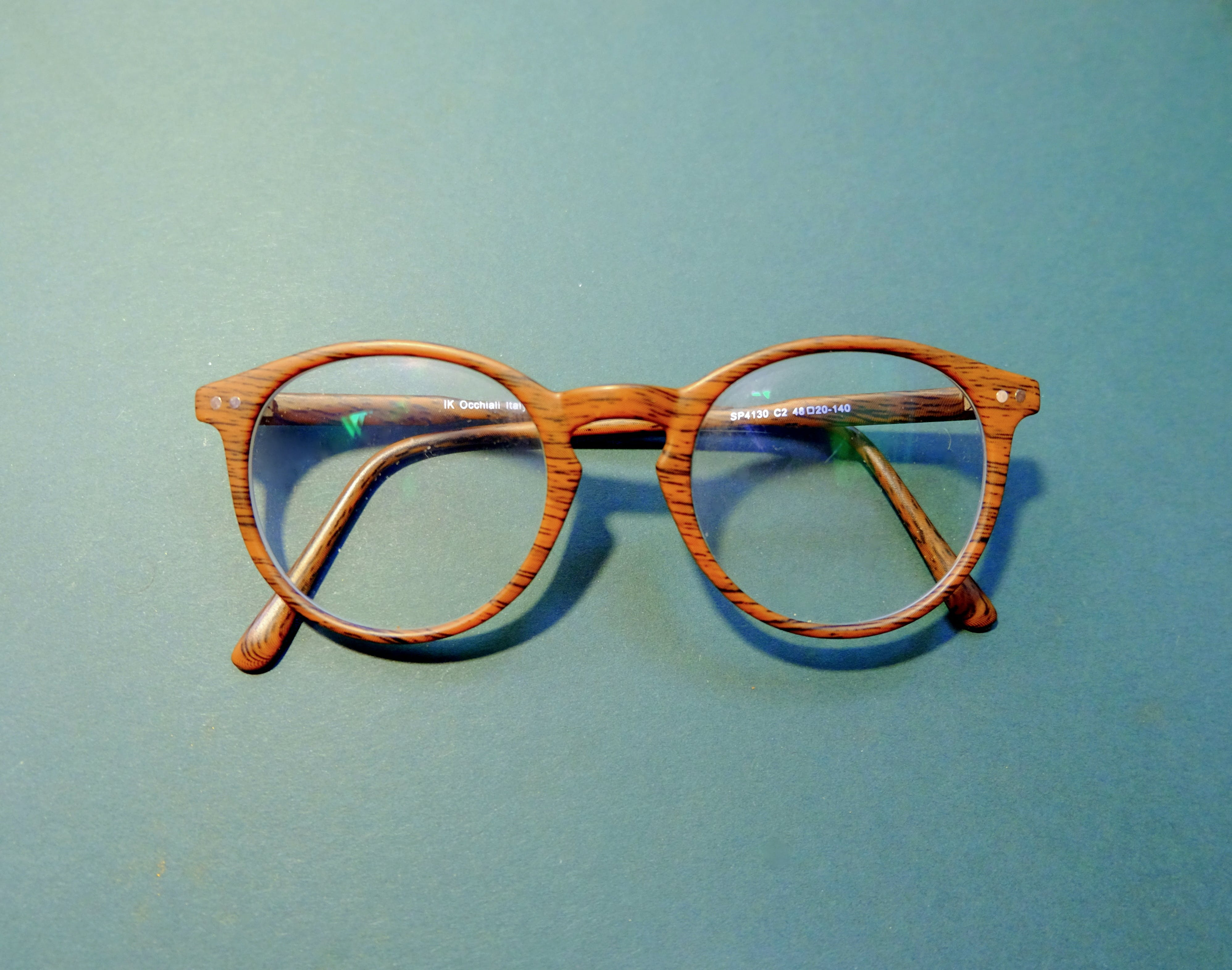 Brown-framed Eyeglasses