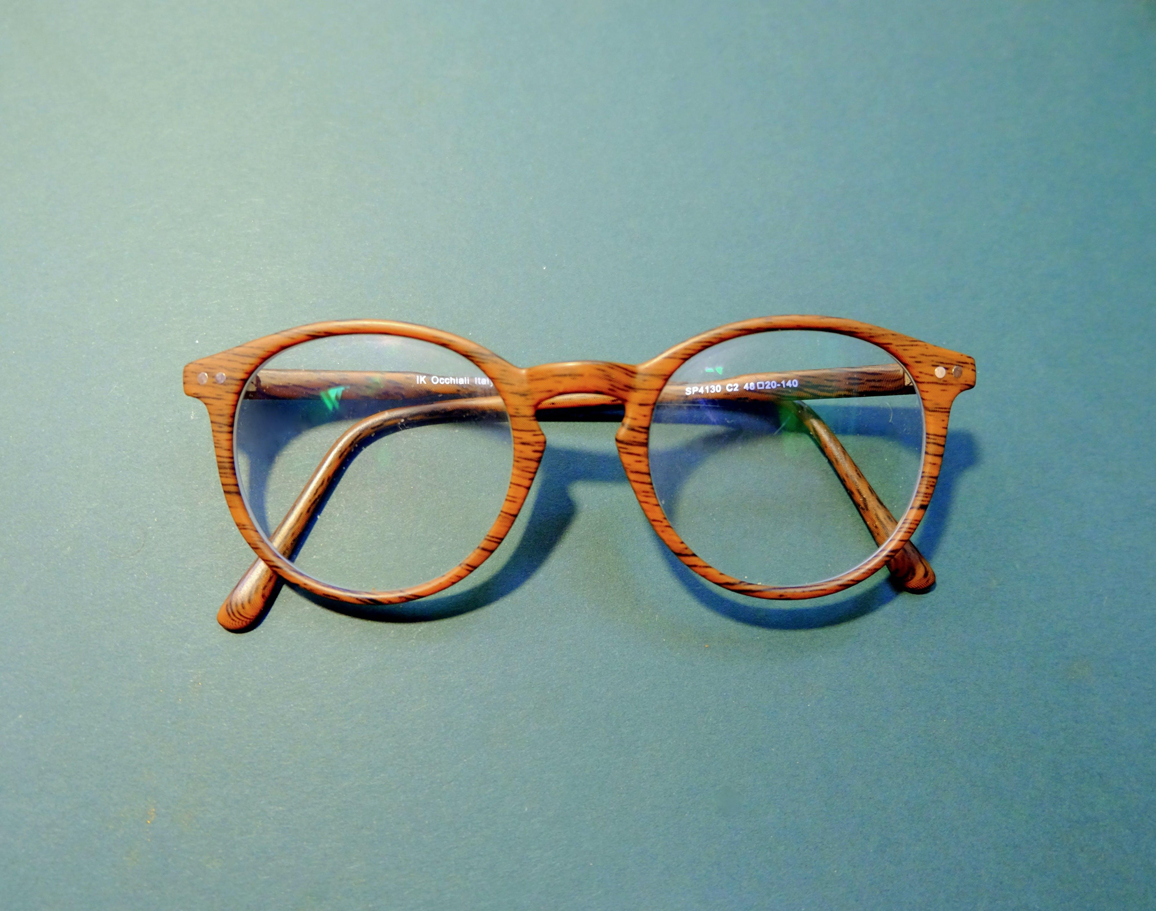 Brown-framed Eyeglasses