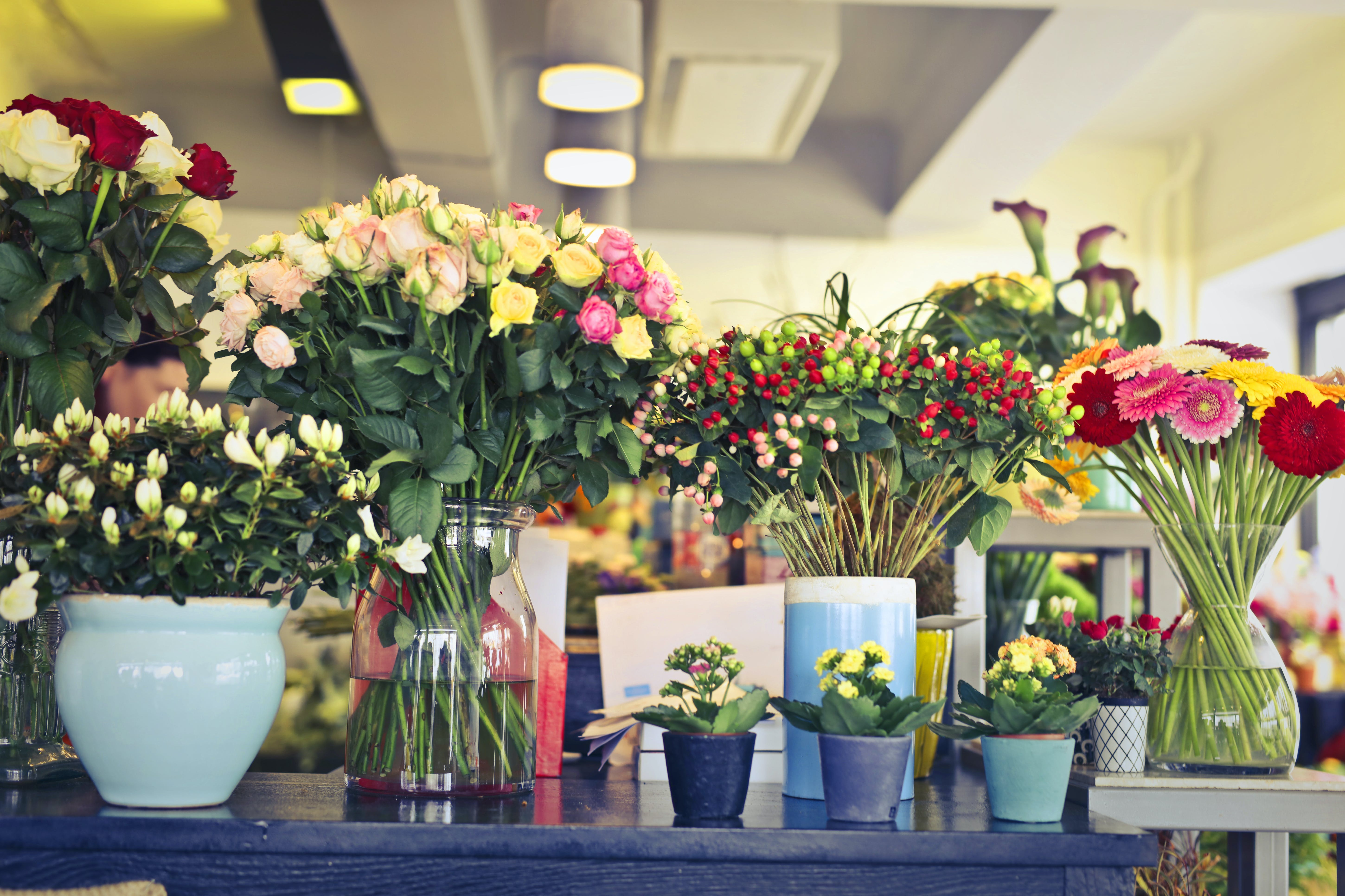 Assorted Flower Arrangements