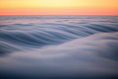 Ingyenes stockfotó alkonyat, este, gördülő köd témában