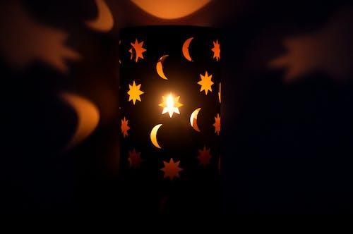 คลังภาพถ่ายฟรี ของ การสะท้อน, การสะท้อนแสง, จันทรา, ดวงจันทร์