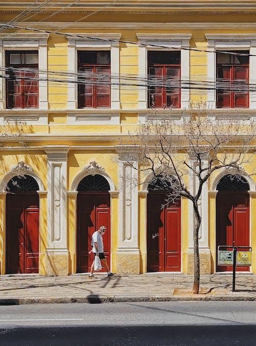Kostnadsfri bild av arkitektur, byggnad, dörr