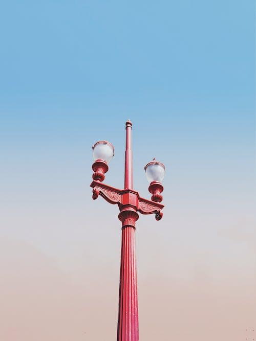 Kostnadsfri bild av arkitektur, blå himmel, elektricitet