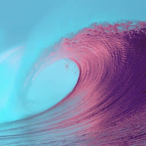 Kostenloses Stock Foto zu animation, aufnahme von unten, bildschirmschoner, farben